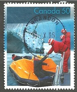 Sc. # 2111b Search & Rescue, Rescue From The Sea Single Used 2005 K1266