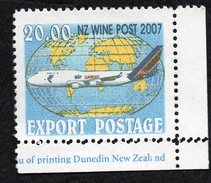 New Zealand Wine Post Double Perforations Flaw - Unclassified
