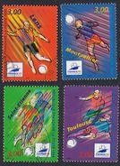 FRANCE Francia Frankreich - 1996, Série Complète Oblitérée Yvert 3010/3013 -  France 98 Coupe De Monde De Football. - Frankreich