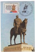 MAXI CARD- FAMOUS PEOPLE  ROMANIA,Mircea Cel Batran VOIEVOD COUNTRIES OF ROMANIAN