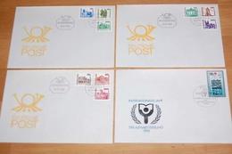 DDR FDC - Lot Aus 1984-90, über Weite Strecken Komplett  ....120 (0) - Stamps