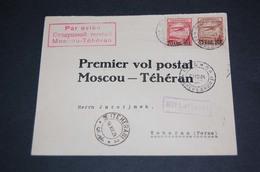 28840) UDSSR Luftpostbrief Moscow-Teheran Aus 1924