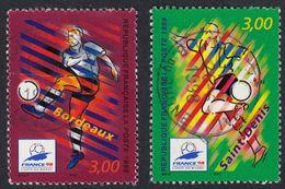 FRANCE Francia Frankreich - 1998, Série Complète Oblitérée Yvert 3130/3131 - Coupe Du Monde De Footbal. - Frankreich