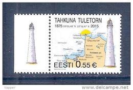 Lighthouses Tahkuna Lighthouse 2015 Estonia MNH Stamp
