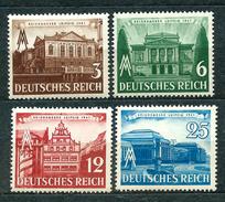 Deutsches Reich 1941, MiNr 764-767; MNH ** (# 766 MH *) - Allemagne