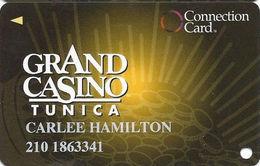 Grand Casino Tunica MS - Slot Card - Cpi 2011576 Over Mag Stripe - Casino Cards