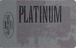 Gilpin Casino Black Hawk CO - Slot Card - Platinum Level With Street Scene - BLANK - Casino Cards
