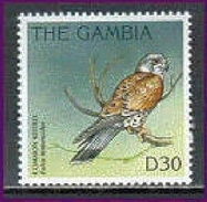 MINT NEVER HINGED STAMPS OF BIRDS  ( GAMBIA    1839    9632