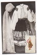 Maxi Card FOLKLOR -COSTUMES FROM OLTENIA -DOLJ-ROMANIA