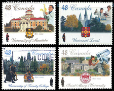 Canada (Scott No.1941-44 - University Du Manitoba)+ (o) Série /set