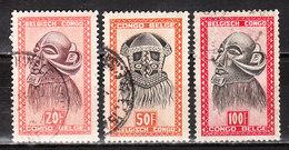 293/95  Masques - Les 3 Grosses Valeurs - Oblit. - LOOK!!!!