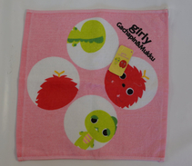 Girly Gachapin&Mukku: Hand Towel - Other