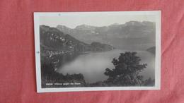 RPPC Vitznau Against The Alps-- Ref --2493 - Suisse