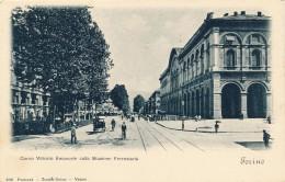 G51 - ITALIE - Torino - Corso Vittorio Emanuele Colla Stazione Ferroviaria - Stazione Porta Nuova