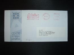 LETTRE EMA R 20090 à 262 Du 10 4 94 CHARTRES RP (28) CENTRE INTERNATIONAL DU VITRAIL