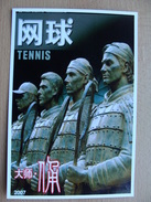 China Pws 2006 Tennisplayers Tennis Roger Federer Rafael Nadal Terracotta Army Entier Postal Stationery Card A 3,50 Euro