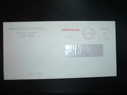 LETTRE EMA T 7795 à 080 Du 24 12 74 PARIS 87 + FRANCE GLACE FINDUS SA + KOUKOULINA La Glace à Truc