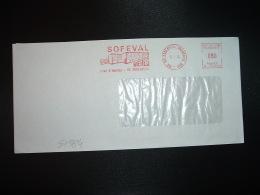 LETTRE EMA P 16706 à 090 Du 12 7 74 ARGENTEUIL PRINCIPAL (95) SOFEVAL BIERES