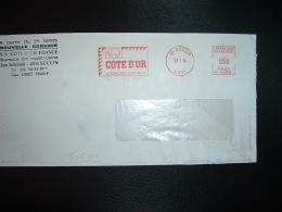 LETTRE EMA P 1090 Du 23 7 74 SECLIN (59) COTE D'OR LE BON CHOCOLAT BELGE + ELEPHANT