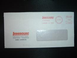 LETTRE EMA T 5161 à 140 Du 24 10 74 LIVERDUN (54) LEREBOURG CONFITURES CONSERVES DE FRUITS