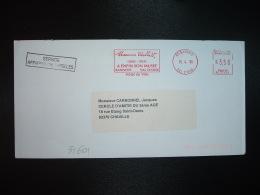 LETTRE EMA RC 71423 à 3,50 Du 15 4 98 SANNOIS (95) MAURICE UTRILLO A ENFIN SON MUSEE