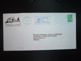 LETTRE TP MARIANNE DE LAMOUCHE TVP VERT OBL.MEC.29 05 07 SENS PPDC + 11-12 Juillet 2007 JOIGNY-CHABLIS L'Yonne Départeme