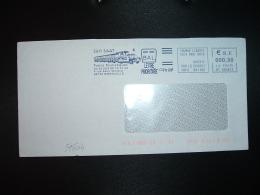 LETTRE EMA MT 660674 à 000,90 Du 09 03 17 COLMAR LLIBERTE (68) Sarl SAAT Trains Touristiques