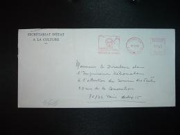 LETTRE EMA T 96852 à 0140 Du 16 12 80 PARIS 202 + 1980 Année Du Patrimoine