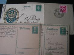 DR  4 Karten Brief Mir SST Nice Lot - Germania