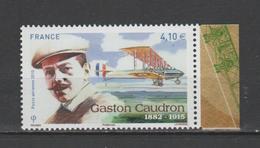 FRANCE / 2015 / Y&T PA N° 79a ** : Gaston CAUDRON (du Feuillet Avec Bord) - Gomme D´origine Intacte