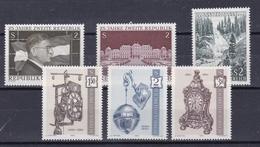 AUSTRIA  Xx 1970     MI 1322-23+1325+1328-30     -  Postfrisch    -     Vedi Foto  !
