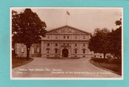 Old/Antique? Postcard Of Rideau Hall,Ottawa,Ontario, Canada,Q59. - Quebec