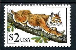209386170 USA 1990 ** MNH SCOTT  2482 Bobcat - Stati Uniti