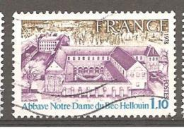 FRANCE / 1978 / Y&T N° 1999 : Abbaye Du Bec Hellouin