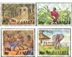Ref. 79714 * MNH * - ZAMBIA. 1979. BASIC SET . SERIE BASICA