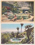 PALM SPRINGS. The Tennis Club. 2 Cards - Palm Springs