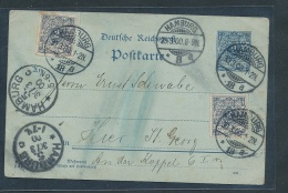 Hamburg Stempel Beleg    (g8382  ) Siehe Bild ! - Allemagne