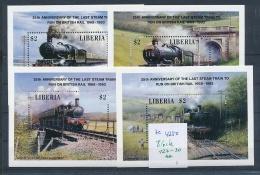 Liberia   Block  127-30   **  (ze4250   ) Siehe Bild !