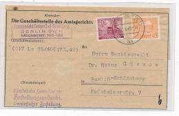 Berlin - Alter  Beleg     (g4195   ) Siehe Bild !