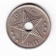 CONGO MORIN KM 42, XF++,  1911. (CO1021) - Congo (Belge) & Ruanda-Urundi