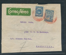 Kolumbien Luftpost  -  Beleg     (ze3893   ) Siehe Bild !