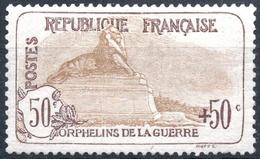 France - Au Profit Des Orphelins De La Guerre - N° 153 Neuf Sans Charnière.