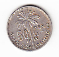 CONGO MORIN  93, 50 Ct,  1926 (CO11) - Congo (Belge) & Ruanda-Urundi