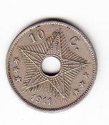 CONGO MORIN 44, 10 Ct,  1911 (CO5) - 1910-1934: Albert I