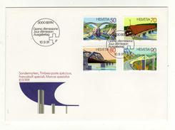 Enveloppe 1er Jour Oblitération 3000 BERN 10/09/1991