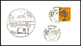 Bund / Germany: 'Apollo13 In Space - NASA-Station Bochum, 1970'