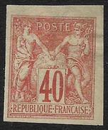 Colonies Générales - Type Sage  - N° 27 Neuf Avec Charnière.