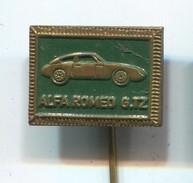 ALFA ROMEO GTZ - Auto, Car, Automotive, Vintage Pin, Badge, Abzeichen - Alfa Romeo