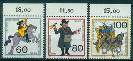Bund 1989 / MiNr.   1437 – 1439  Oberränder  ** / MNH   (e510)