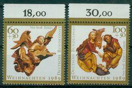 Bund 1989 / MiNr.   1442 – 1443  Oberränder   ** / MNH   (e511)